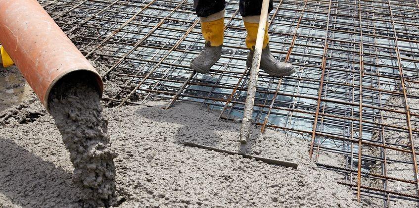 armatura beton placa