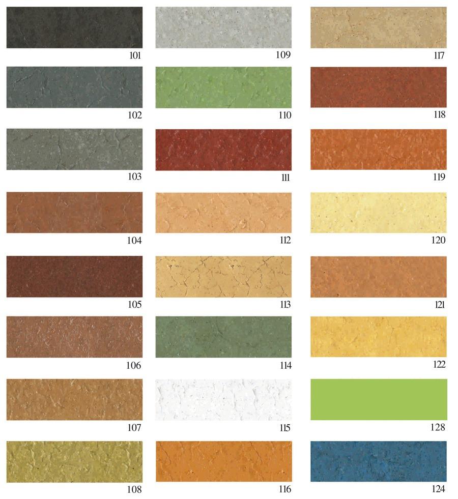 gama culori beton polimer