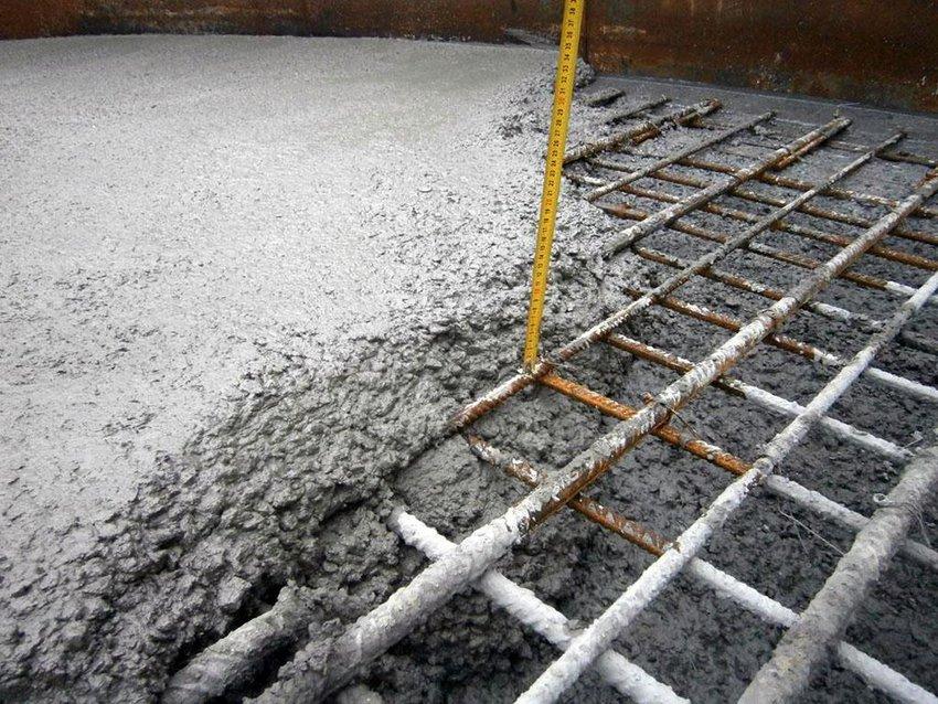 grosime dala beton
