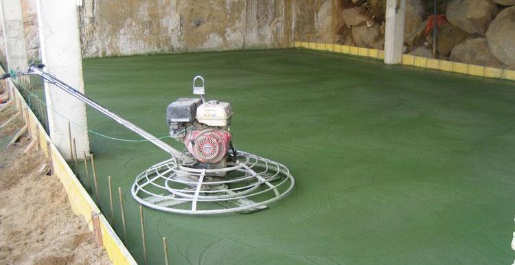pardoseala elicopterizata verde