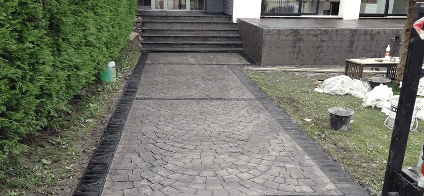 alee beton amprentat