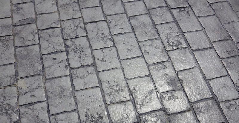 betonul colorat la suprafata