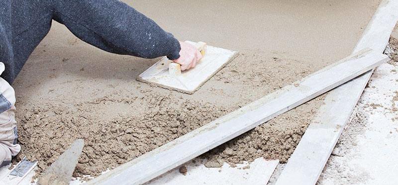 reparatii beton curte
