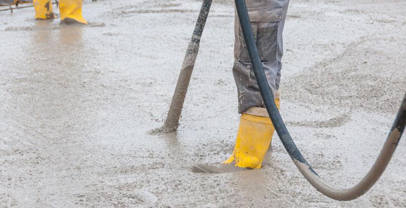 vibrarea betonului