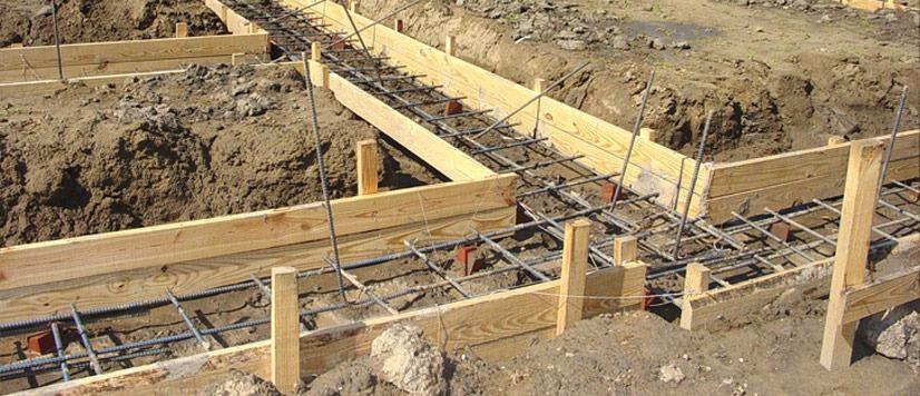 cofraj pentru fundatie beton