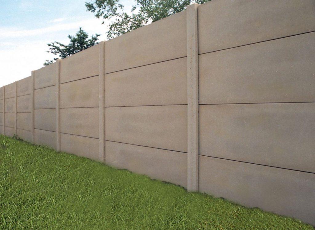 placi gard din beton prefabricat
