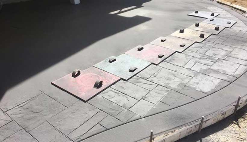 executie beton amprentat in craiova